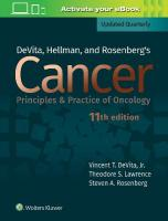 DeVita, Hellman, and Rosenberg's Cancer: Principles & Practice of Oncology 11th edition
