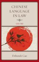 Chinese Language in Law: Code Red