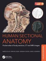 Human Sectional Anatomy: Pocket atlas of body sections, CT and MRI images, Fourth edition 4th New edition