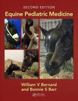 Equine Pediatric Medicine 2nd New edition