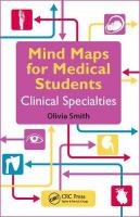 Mind Maps for Medical Students Clinical Specialties: Clinical Specialties