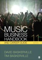 Music Business Handbook and Career Guide 11th Revised edition
