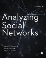 Analyzing Social Networks 2nd Revised edition