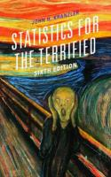 Statistics for the Terrified Sixth Edition