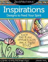 Zenspirations Coloring Book Inspirations Designs to Feed Your Spirit: Create, Color, Pattern, Play!