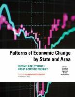 Patterns of Economic Change 2017: Income, Employment, & Gross Domestic Product 2017 Fifth Edition