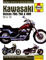 Kawasaki Vulcan 700/750/800 1985-2006 New edition