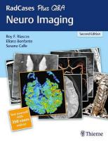 RadCases Plus Q&A Neuro Imaging 2nd New edition