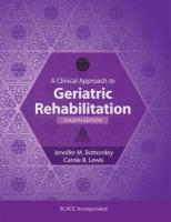 Clinical Approach to Geriatric Rehabilitation 4th Revised edition
