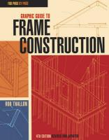 Graphic Guide to Frame Construction: Fourth Edition, Revised and Updated 4th Revised edition