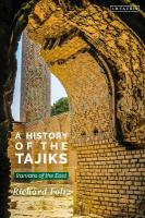 History of the Tajiks: Iranians of the East
