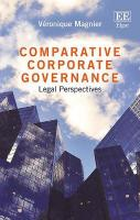Comparative Corporate Governance: Legal Perspectives
