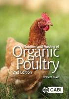 Nutrition and Feeding of Organic Poultry 2nd edition
