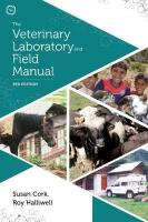 Veterinary Laboratory and Field Manual 3rd edition