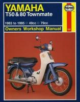 Yamaha T50 & 80 Townmate (83 - 95) 5th Revised edition