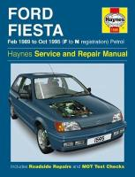 Ford Fiesta Petrol (Feb 89 - Oct 95) F To N New ed of 2 Revised ed of