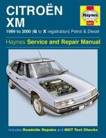 Citroen Xm Petrol & Diesel (89 - 00) G To X 2nd Revised edition