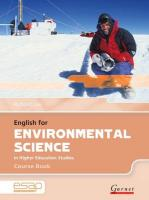 English for Environmental Science Course Book plus CDs Student edition, Course Book and Audio CDs