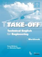 Take Off - Technical English for Engineering Workbook: Workbook, Workbook
