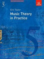 Music Theory In Practice - Grade 5 (Revised 2008 Edition)