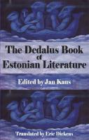Dedalus Book of Estonian Literature