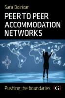 Peer to Peer Accommodation Networks: An Examination