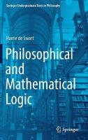 Philosophical and Mathematical Logic 1st ed. 2018