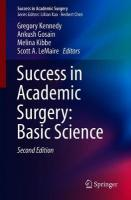 Success in Academic Surgery: Basic Science 2nd ed. 2019