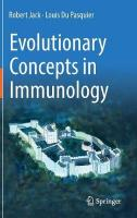 Evolutionary Concepts in Immunology 1st ed. 2019