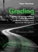Grading: BIM. landscapingSMART. 3D-Machine Control Systems. Stormwater Management 2nd ed., rev. and expanded