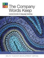 Company Words Keep: Lexical chunks in language teaching