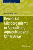 Beneficial Microorganisms in Agriculture, Aquaculture and Other Areas 2015 1st ed. 2015