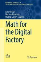 Math for the Digital Factory 1st ed. 2017