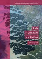 Scale in Literature and Culture 1st ed. 2017