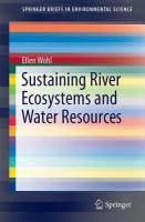 Sustaining River Ecosystems and Water Resources 1st ed. 2018