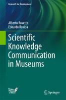 Scientific Knowledge Communication in Museums 1st ed. 2018