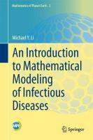 Introduction to Mathematical Modeling of Infectious Diseases 1st ed. 2018