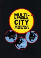 Multi-national City: Architectural Itineraries