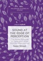 Sound at the Edge of Perception: The Aural Minutiae of Sand and other Worldly Murmurings Softcover reprint of the original 1st ed. 2019