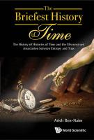 Briefest History Of Time, The: The History Of Histories Of Time And The   Misconstrued Association Between Entropy And Time: The History of Histories of Time and the Misconstrued Association Between   Entropy and Time