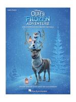 Disney's Olaf's Frozen Adventure For Piano