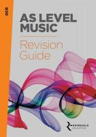 OCR AS Level Music Revision Guide