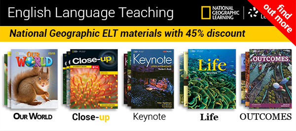 National Geographic Learning ELT materials with 45% discount